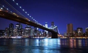 Brooklyn Bridge @ Night