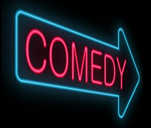 Comedy Neon Sign