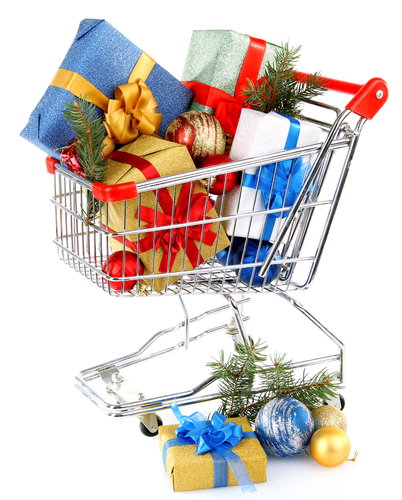 Christmas shopping Manhattan